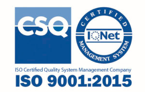 Certificado ISO 9001 - Grupo ONE Facility Services
