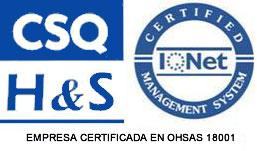 Certificado OHSAS 18001 - Grupo ONE Facility Services