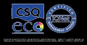 Certificado ISO 14001 - Grupo ONE Facility Services